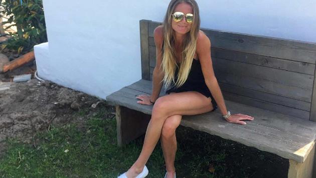 Der Sommer kann kommen: Tennis-Ass Daniela Hantuchova zeigt ihre laaaaaangen Beine. (Bild: Instagram)