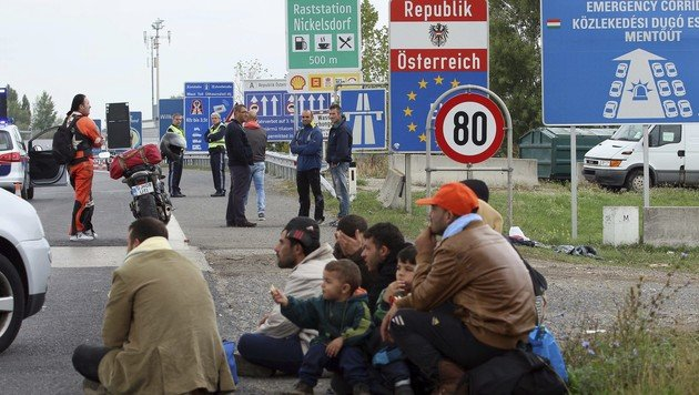 Asyl: 5000 Euro Strafe für Bundesländer-Wechsel (Bild: AP (Archivbild))