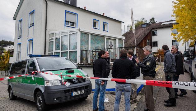 Ein Reichsbürger schoss im Oktober 2016 in Bayern auf Polizisten. (Bild: APA/dpa/Nicolas Armer)