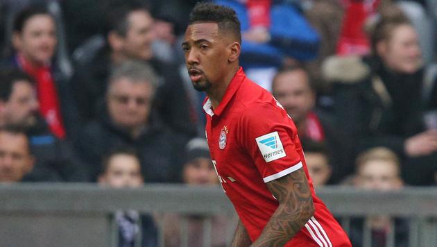 Abwehrsorgen bei Bayern: Boateng angeschlagen (Bild: GEPA)