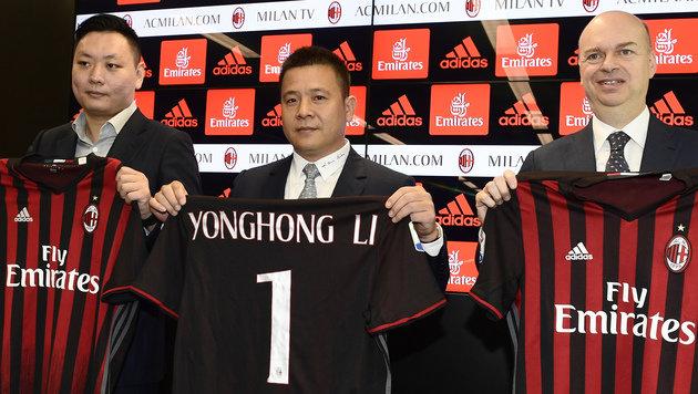 """""""Chinesisches"""" Milan """"bald wieder Weltspitze"""" (Bild: AFP)"""
