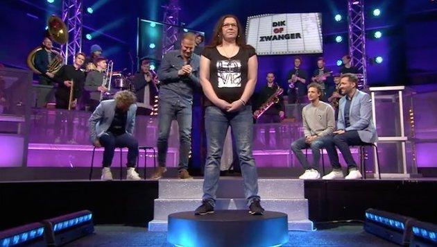 """TV-Sender streicht Spiel """"Dick oder schwanger"""" (Bild: twitter.com)"""