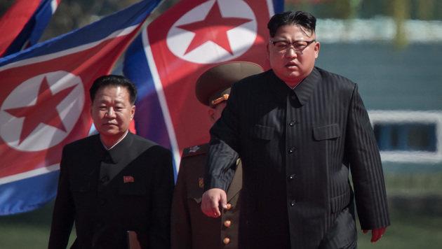 Der Druck auf Nordkoreas Diktator Kim Jong Un steigt. (Bild: AFP)
