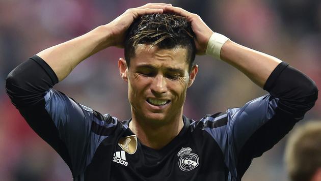 Ronaldo erteilt seiner sexy Freundin Party-Verbot! (Bild: AFP)