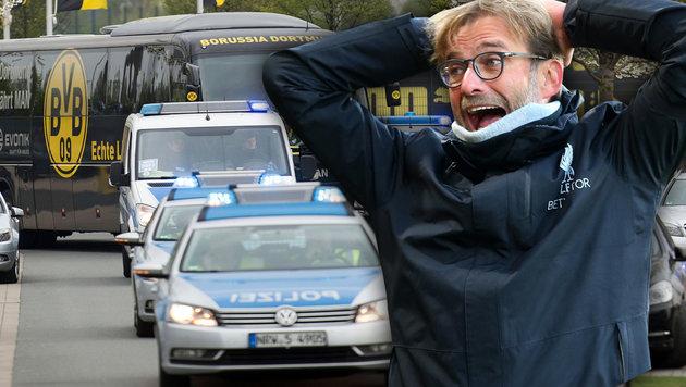 """Klopp zu Anschlag: """"Hatte Angst um meine Freunde!"""" (Bild: GEPA, AP)"""
