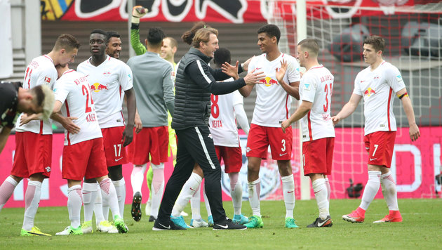 RB Leipzig plant Kooperation mit großem China-Klub (Bild: GEPA)