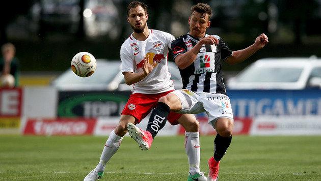 RB Salzburg spaziert im Schongang zu 2:0 beim WAC (Bild: GEPA)