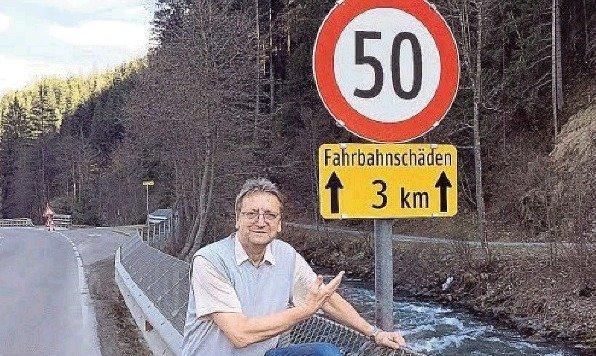 Saalbachs Vize-Bürgermeister. Karl Schnell: Limit statt Straßensanierung. (Bild: Schnell)
