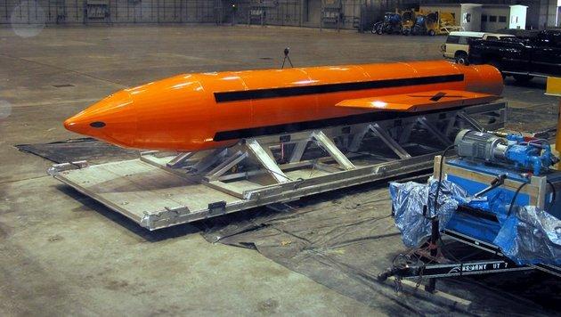 Eine Bombe des Typs GBU-43/B (Bild: AFP)