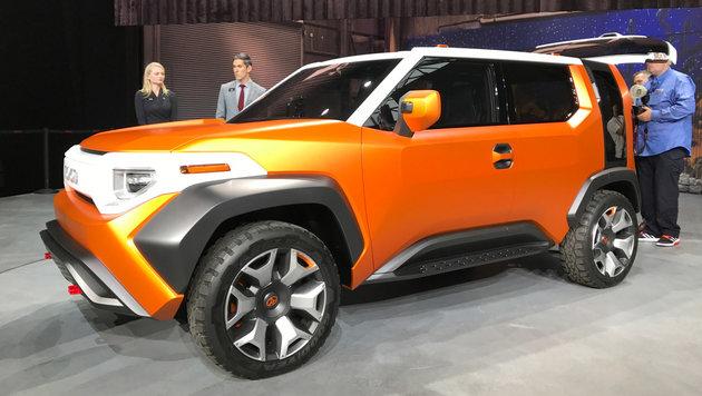 Toyota FT-4X Concept (Bild: SPX/Michael Specht)