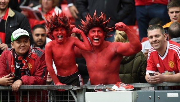 ManUnited gewinnt Super-Schlager gegen Chelsea! (Bild: AFP)