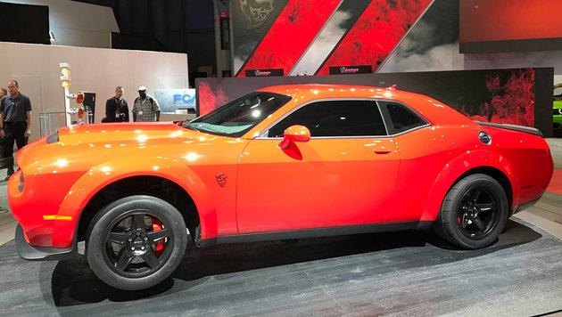 Dodge Challenger SRT Demon (Bild: SPX/Michael Specht)