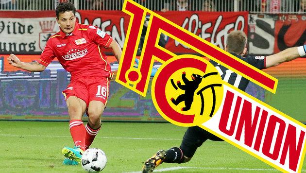 Hosiner trifft bei 3:1 von Union Berlin gegen FCK! (Bild: GEPA, Union Berlin)