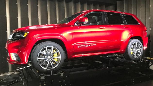 Jeep Grand Cherokee Trackhawk (Bild: SPX/Michael Specht)
