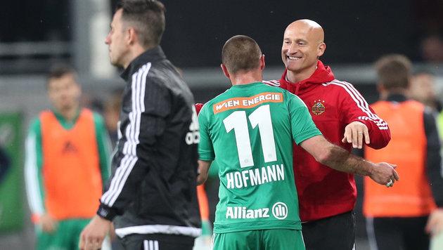 """Hofmann: """"Jungs sagten, der Papa soll schießen!"""" (Bild: GEPA)"""