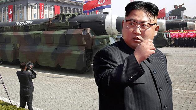 Putin schickt Verstärkung an Grenze zu Nordkorea (Bild: AP)