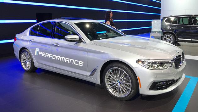 BMW 530e iPerformance (Bild: SPX/Michael Specht)