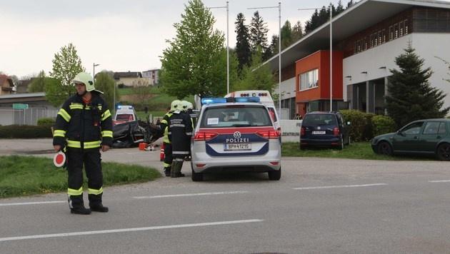 Crash mit 241-PS-Golf: Zwei junge Männer tot (Bild: Daniel Scharinger/Pressefoto Scharinger)