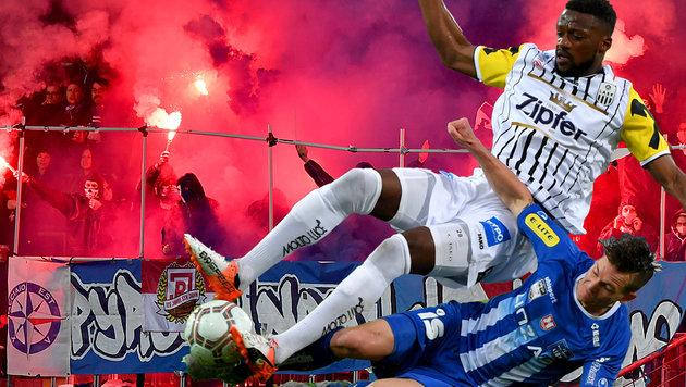 BW Linz erringt vor 7356 Fans Remis gegen den LASK (Bild: GEPA)