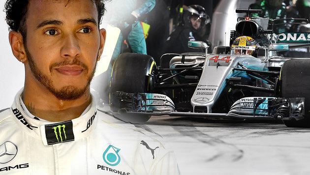 """""""Das war mein Fehler"""" - Hamilton entschuldigt sich (Bild: AFP)"""