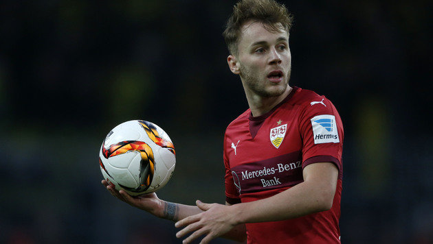 Stuttgart-Torschütze Alexandru Maxim (Bild: AFP)