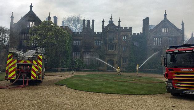 Britisches Anwesen von Treichl-Bruder abgebrannt (Bild: twitter.com)