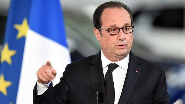 Frankreichs Präsident Francois Hollande (Bild: AFP)