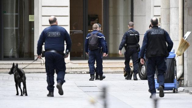 Die Polizei ist in Frankreich in erhöhter Alarmbereitschaft. (Bild: AFP)