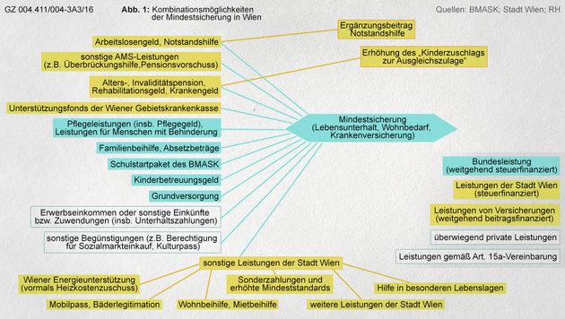 """Mit """"Sozialhilfe-Kombi"""" zu 3200 € Mindestsicherung (Bild: Kronen Zeitung)"""