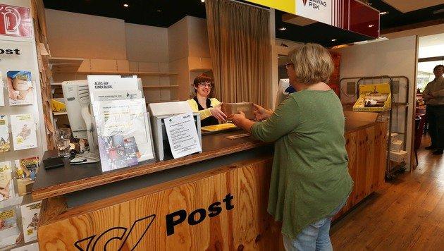 Dieser Postpartner in der Grazer Münzgrabenstraße wurde bereits geschlossen. (Bild: Jürgen Radspieler)