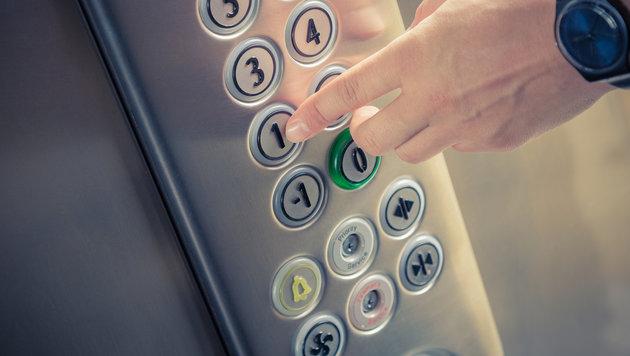 Sexattacke in Lift: Täter in die Flucht geschlagen (Bild: thinkstockphotos.com)