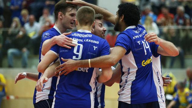 """Unser Volleyball-Meister """"flieht"""" nach Deutschland (Bild: GEPA)"""