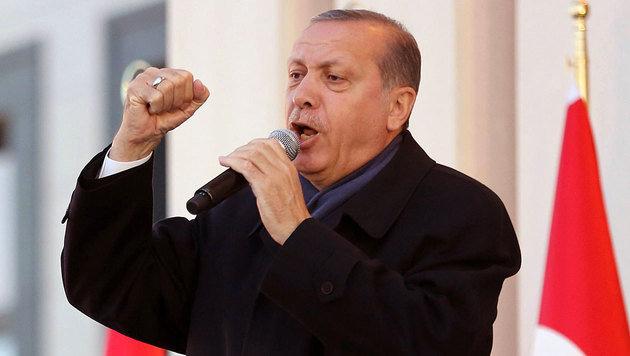 Präsident Erdogan will nun auch die Todesstrafe wieder einführen. (Bild: AFP)