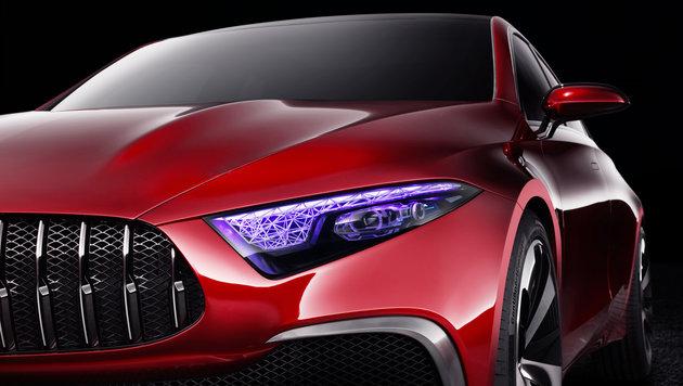 Mercedes Concept A: Alles neu bei der A-Klasse (Bild: Daimler)