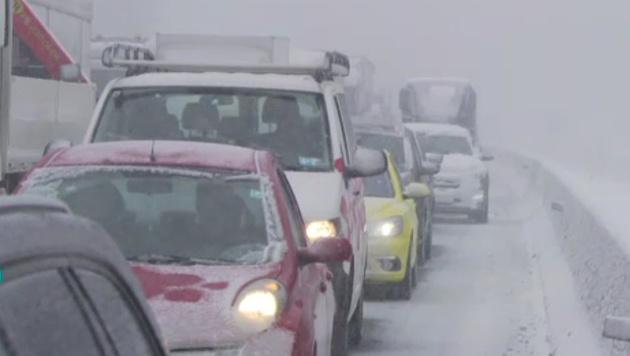 """Schneehölle: """"Die Straße wurde zur Todesfalle"""" (Bild: ORF)"""