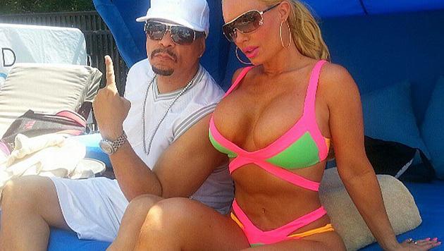 Ice-T und seine kurvige Ehefrau Coco Austin (Bild: instagram.com/coco)