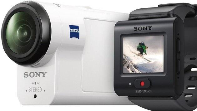 Beste Actioncam: Sony FDR-X3000R (ab 500 Euro) (Bild: Sony)