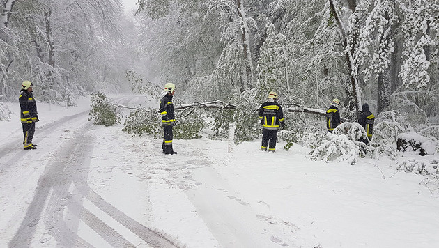 Das war der kälteste April seit neun Jahren! (Bild: Stefan Schneider/BFK Baden)