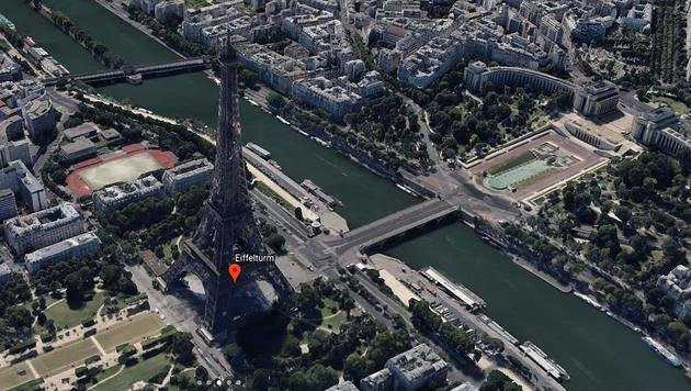 Google Earth ab sofort direkt im Browser abrufbar (Bild: Google)