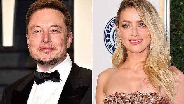 Amber Heard plant angeblich schon ihre Zukunft mit Tesla-Chef Elon Musk. (Bild: Pascal Le Segretain/Getty Images/AFP, AFP)
