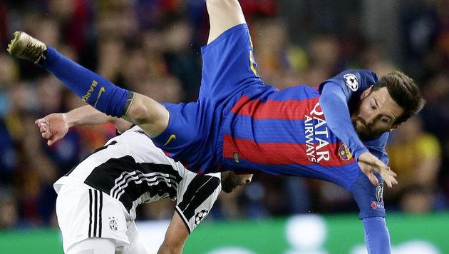 Barca-Hoffnung auf ein Wunder zerschellt an Juve! (Bild: AP)
