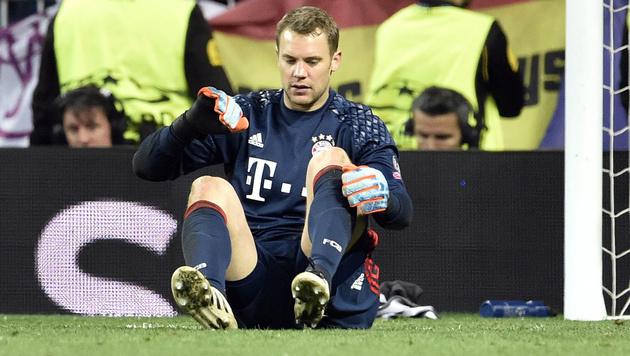 Manuel Neuer Fuss Gebrochen