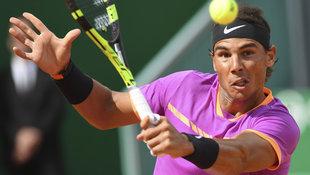 Nadal in Monte Carlo überraschend mühevoll weiter! (Bild: AFP)
