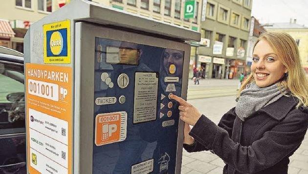 Linz bietet eine Münzenaktion für das Gratisparken an. (Bild: Markus Wenzel)