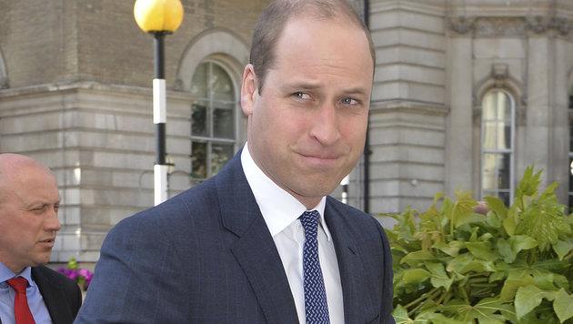 """William am Weg zum Screening der Doku """"Mind over Marathon"""", in der er über den Tod Dianas spricht. (Bild: AP)"""