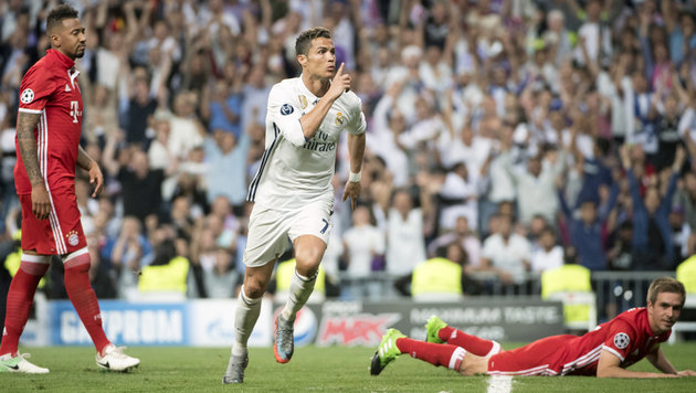 Ronaldo ärgert sich über Pfiffe der Real-Fans (Bild: AFP)