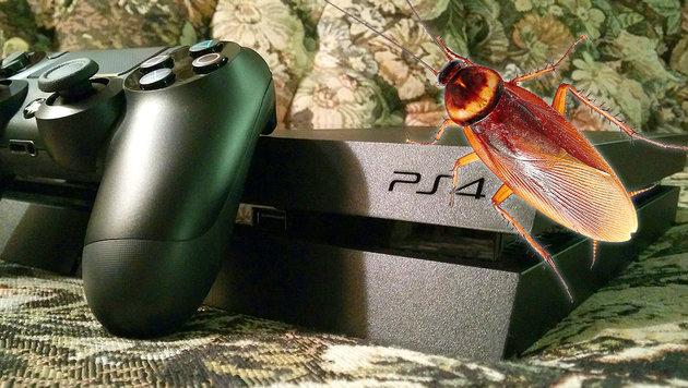Sonys PlayStation 4 hat ein Kakerlakenproblem (Bild: thinkstockphotos.de, flickr.com/jfingas)