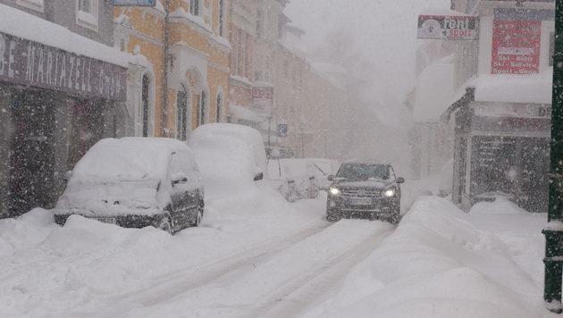 Wetterchaos: Der Norden versinkt im Schnee (Bild: Josef Kuss)