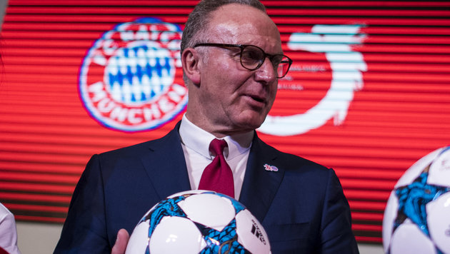 So will Rummenigge den Transfer-Irrsinn stoppen! (Bild: AFP)