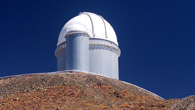 Das 3,6-Meter-Teleskop der ESO in Chile (Bild: ESO)